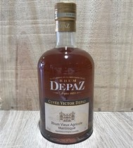 RHUM AGRICOLE VIEUX DE MARTINIQUE    VICTOR DEPAZ- 70CL - 45%    DEPAZ