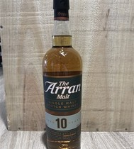 ECOSSE - SINGLE MALT WHISKY - ARRAN    10 ANS - 70CL - 46%    ARRAN